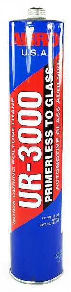 Герметик для вклейки стекол ABRO 300мл UR-3000