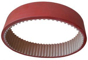 Фото  Зубчатый ремень протяжки упаковочной пленки аналог 50 Т10/630 + Linatex 7mm на ФУА «ULMA»