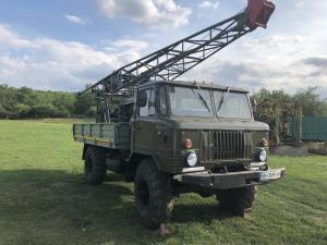 Фото  Буровая установка УГБ 50 на базе  Газ 66