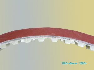 Фото  Зубчатый ремень 32 Т10/700 + резиновое покрытие 6 mm. для ФУА «Лидия»