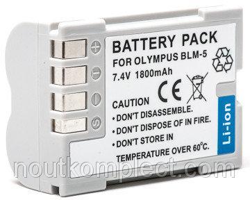 Аккумулятор PowerPlant Olympus PS-BLM5 1800mAh