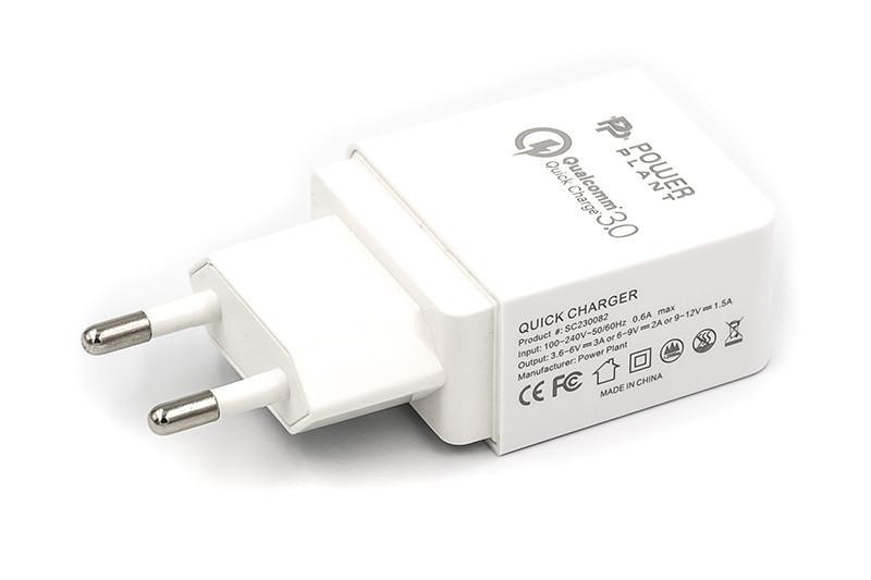 Зарядное устройство PowerPlant GS-551 220V charger qualcomm 3.0