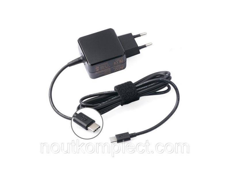 Сетевое зарядное устройство KFD USB Type-C, 5.25V 3A, Черный