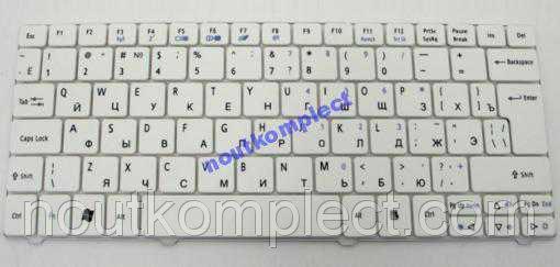 Клавиатура для ACER Aspire One 721, 751H, TL1810T