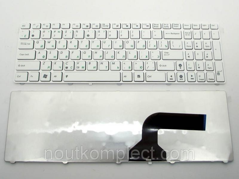 Клавиатура для ноутбука ASUS K52, A52, X52, A72, K72, G60, G51, G53, G73, UL50, F70, K54