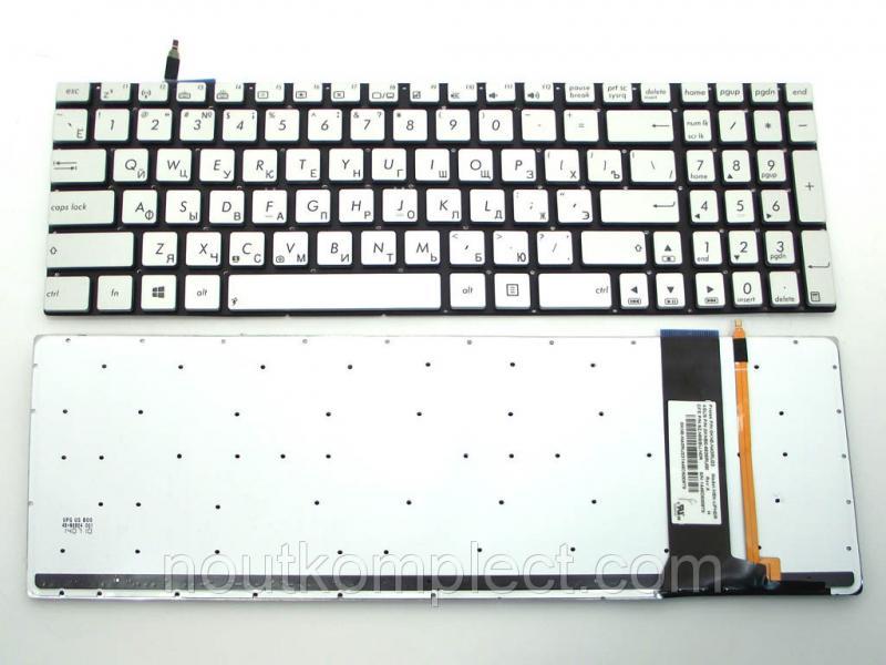 Клавиатура для ноутбука ASUS N550 N550J N550JA N550JK N750 N750J N750JK N750JV