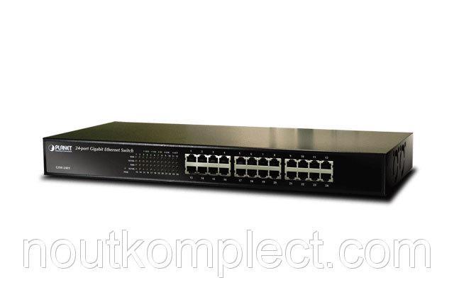 Неуправляемый гигабитный коммутатор Planet GSW-2401 (24-Port 10/100/1000Mbps)