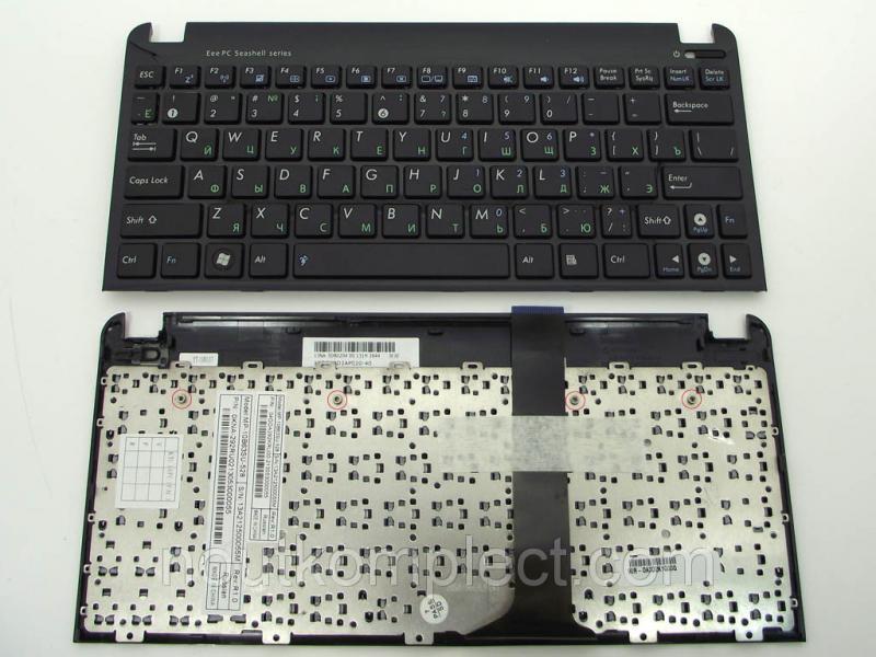 Клавиатура для ноутбука ASUS EEE PC 1015 1015P 1015PE 1015PN 1015PX