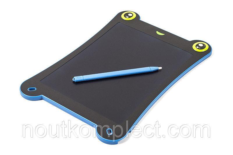 """LCD планшет для записей PowerPlant 8.5"""" в форме лягушки, синий"""