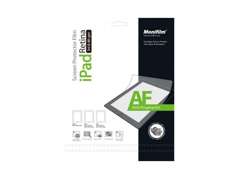 Защитная пленка Monifilm для Apple iPad 2, New iPad 3, iPad 4, AF - матовая