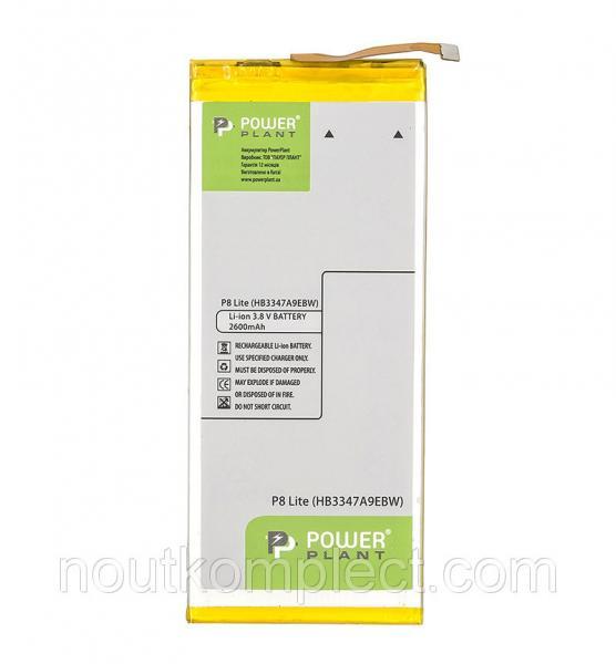 Аккумулятор PowerPlant Huawei P8, P8 Lite (HB3347A9EBW) 2600mAh