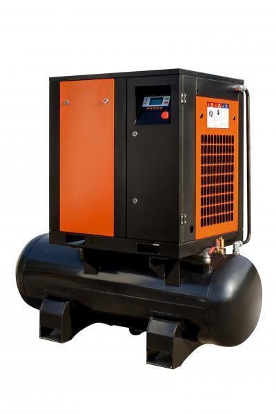 Винтовой компрессор 5.5 кВт на ресивере 300л