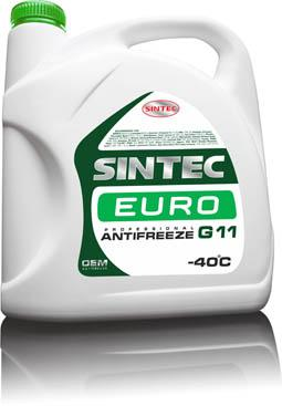 Антифриз Sintec Euro (зеленый) 3кг