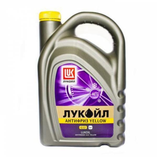 Антифриз Лукойл G12 желтый 5кг
