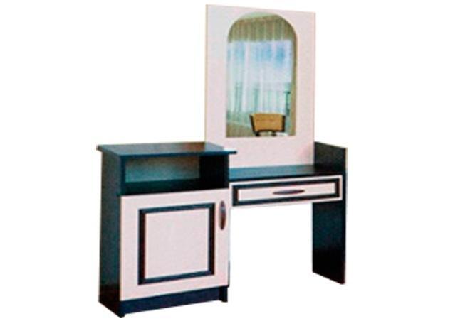 Туалетный столик Ким (темный/светлый венге)