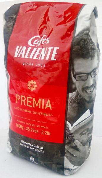 Кофе в зернах Cafes VALIENTE PREMIA 1кг