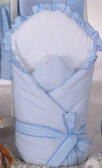 Конверт-одеяло для детей на выписку из роддома Milpol 100 % хлопок
