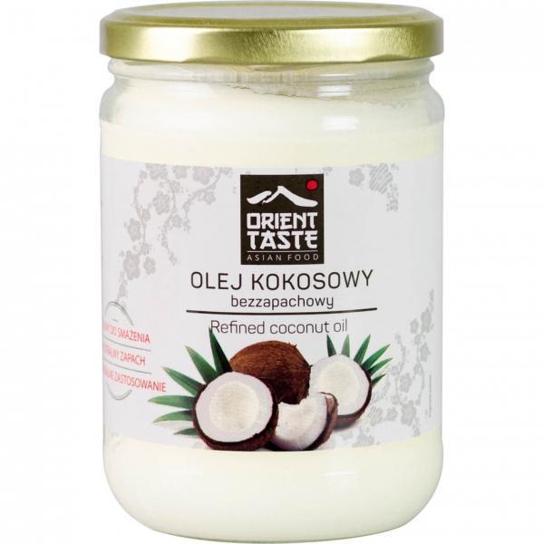 Кокосовое масло рафинированое Orient Taste Olej Kokosowy 500г