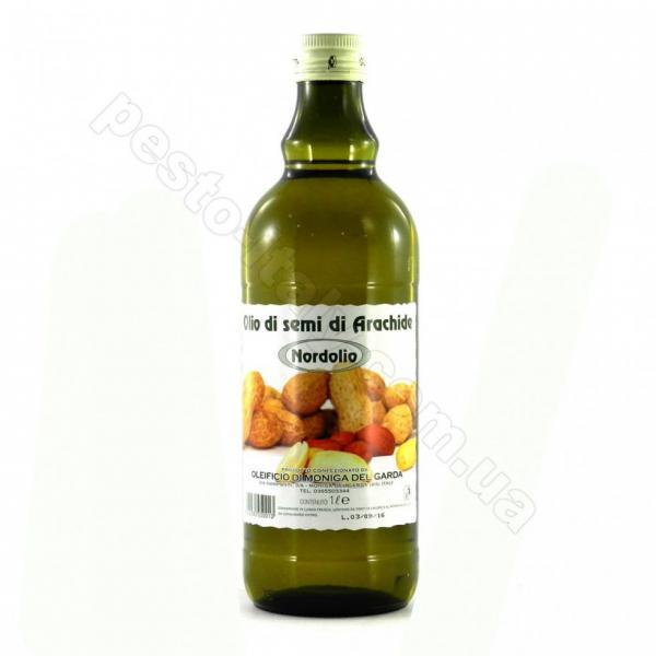 Масло арахисовоенерафинированное Olio di semi di Arachido Nordolio 1 л Италия