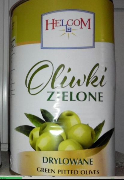 Оливки зеленые без косточки Excelencia Verdes Deshuesdas 4100g
