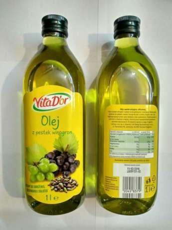 Масло с виноградных косточек VitaDor 1л