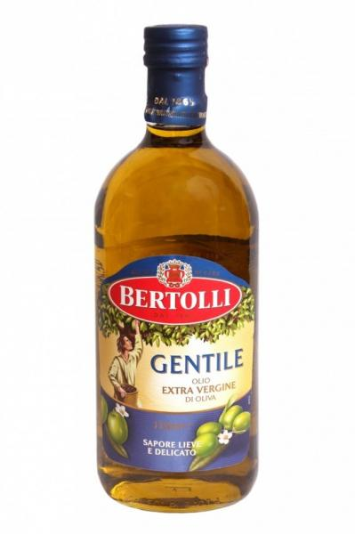 Оливковое масло Bertolli GENTILE olio extra vergine di oliva 1л