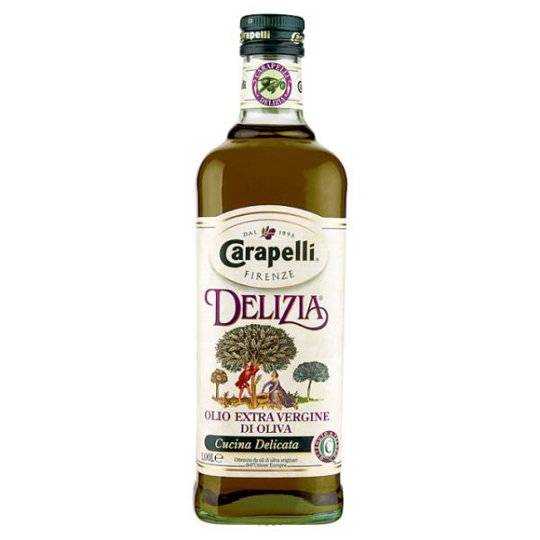 Оливковое масло CARAPELLI Delizia 1л  Карапелли Делиция 1000мл