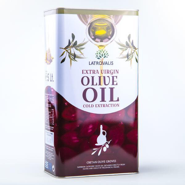 Оливковое масло Latrovalis Olio Extra 5 л