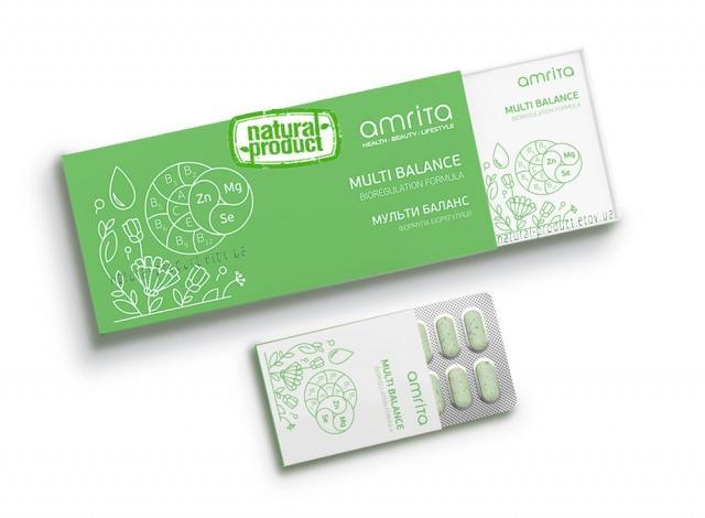 Витамины Multi Balance (Мульти Баланс), 30 табл. по 1000 мг