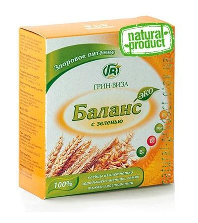 Хлебцы Эко-баланс с зеленью, 170 гр