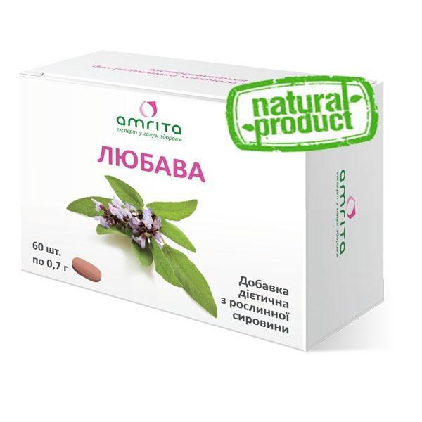 Любава, 30 капс. по 600 мг