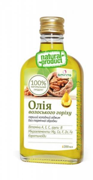 Масло грецкого ореха, 200 мл