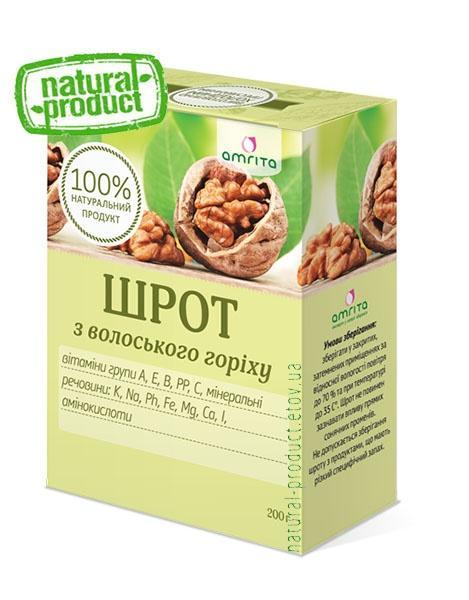 Шрот грецкого ореха, 200 г