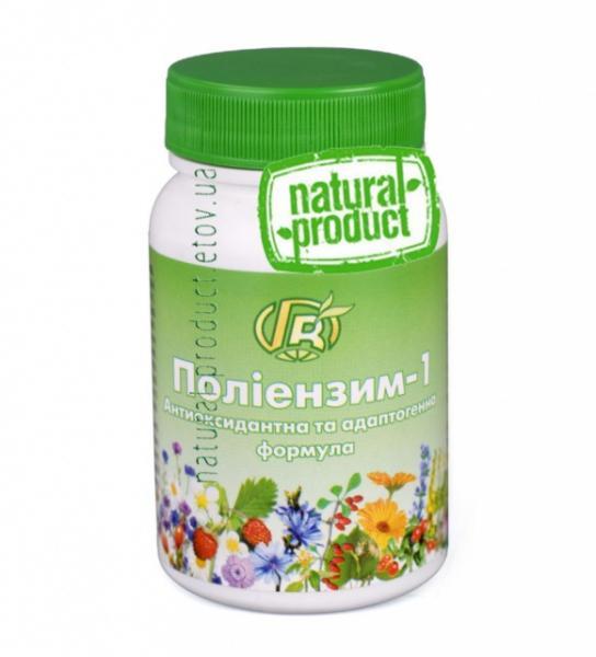 Полиэнзим-1, антиоксидантная ф-ла, 140 г