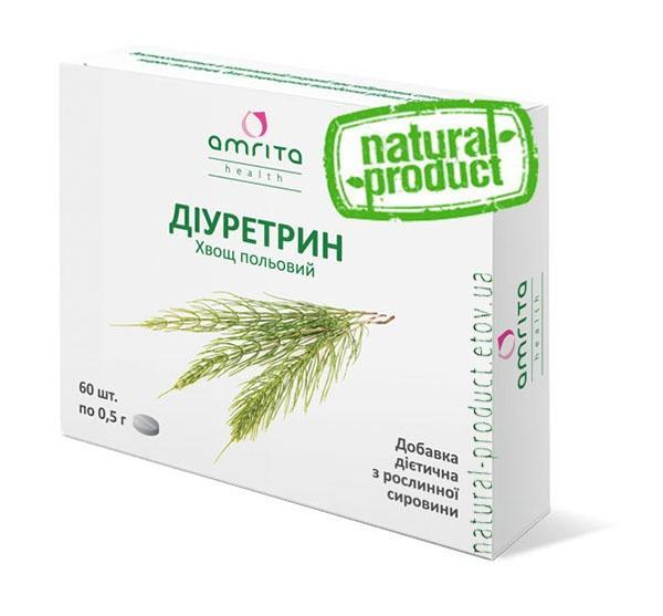 Диуретрин, 60 табл. по 500 мг