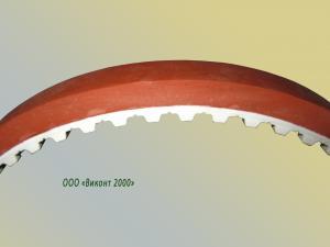 Фото  Ремень зубчатый 628-25 (25 Т10/610+ Vikolaks 6 мм. )