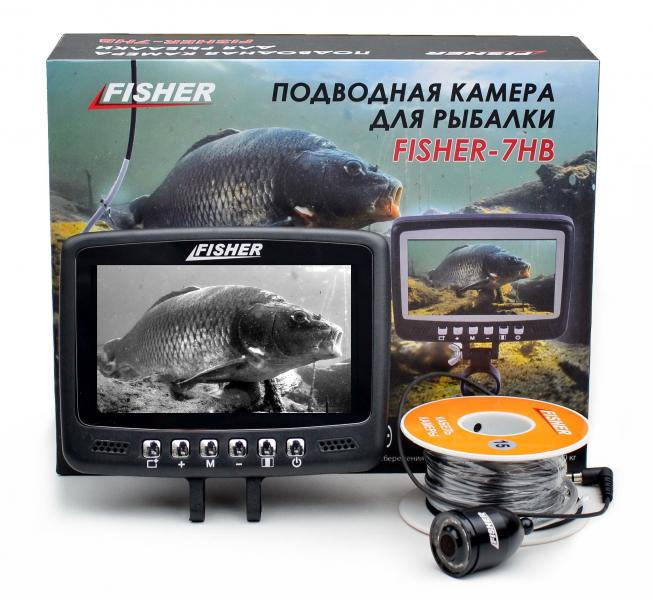 Подводная видеокамера Fisher CR110-7HВ кабель 15м