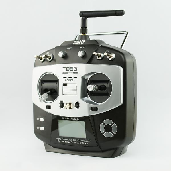 Jumper T8SG - мультипротокольный передатчик , пульт. 10 каналов.