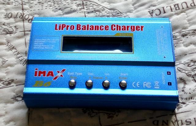 Зарядка IMax B6 без блока питания. Для зарядки всех типов аккумуляторов - LiPo, Li-Ion, Ni-Cd, Li-HV, NiMh, Pb.