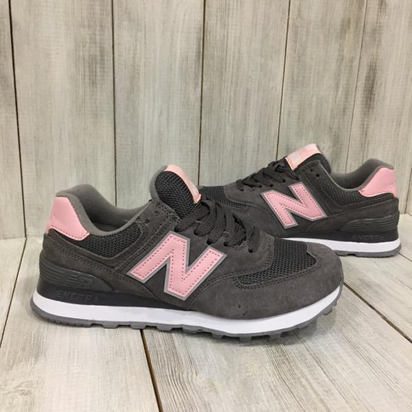Кроссовки женские New Balance серые