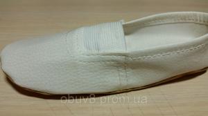 Фото Чешки балетки обувь для танцев гимнастики хореографии оптом Чешки белые обувь для танцев оптом