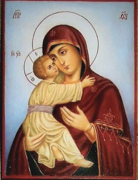 Икона Божия Матерь Владимирская.
