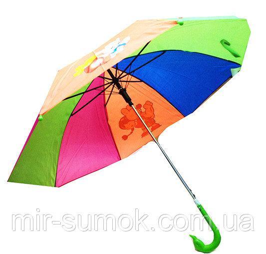 Детский зонт-трость Радуга Мари Fashion Артикул 75 №01