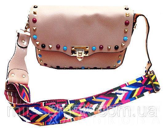 b5df35f9a094 ... Женская сумка Michaei Kors Артикул 5-16 розовая пудра - Женские сумочки  и клатчи на