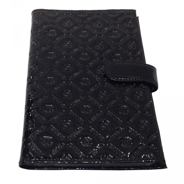 Визитница большая Chanel 608-1 Цвет черный