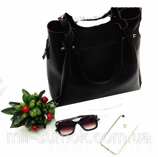 433facc67325 Женская сумка GUESS Артикул 4-18-18 черная - Женские сумочки и клатчи на рынке  Барабашова