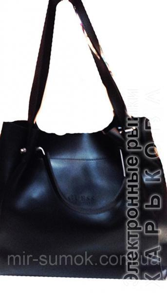 cf3c72a364da ... Женская сумка GUESS Артикул 4-18-18 черная - Женские сумочки и клатчи на