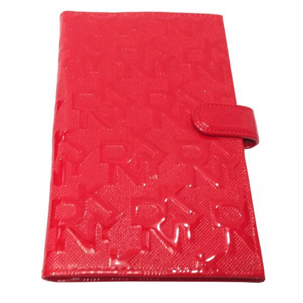 Визитница большая DKNY 608 Цвет красный