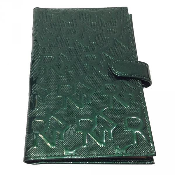 Визитница большая DKNY 608 Цвет зеленый