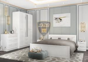 Модульная спальня DIAMANTE (Диамант)  МДФ (ДСВ мебель)